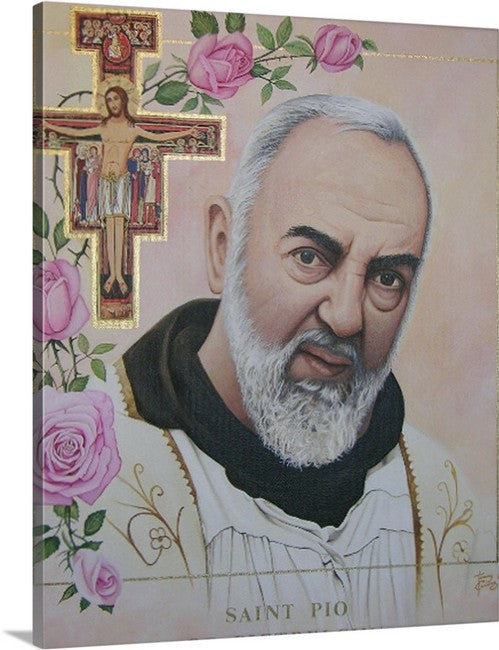 16x20 Canvas Print/ Padre Pio/ $59.00 Free Shippping