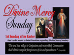 12X18 Divine Mercy Sunday Posters (Box of 4) $45.00 Free Shipping