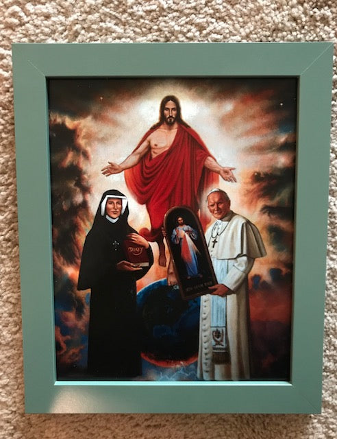 The Spark from Poland (Divine Mercy) 8x10 FREE SHIPPING