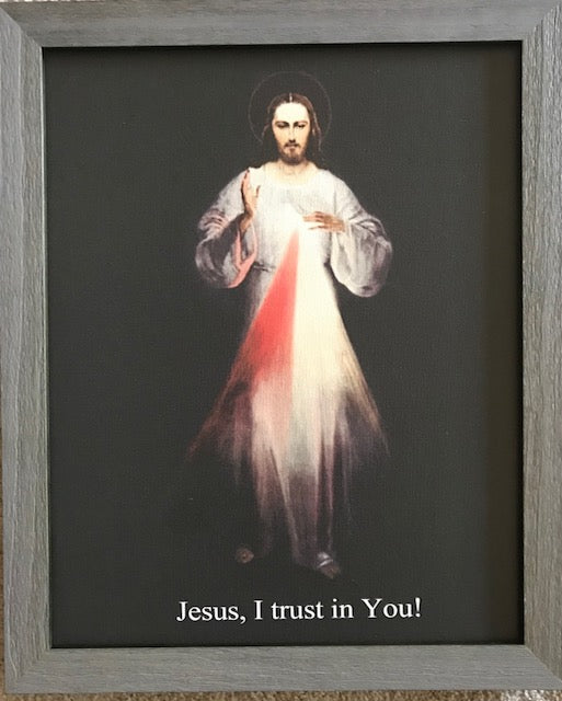 Divine Mercy image 16x20 Canvas (Vilnius) FREE SHIPPING