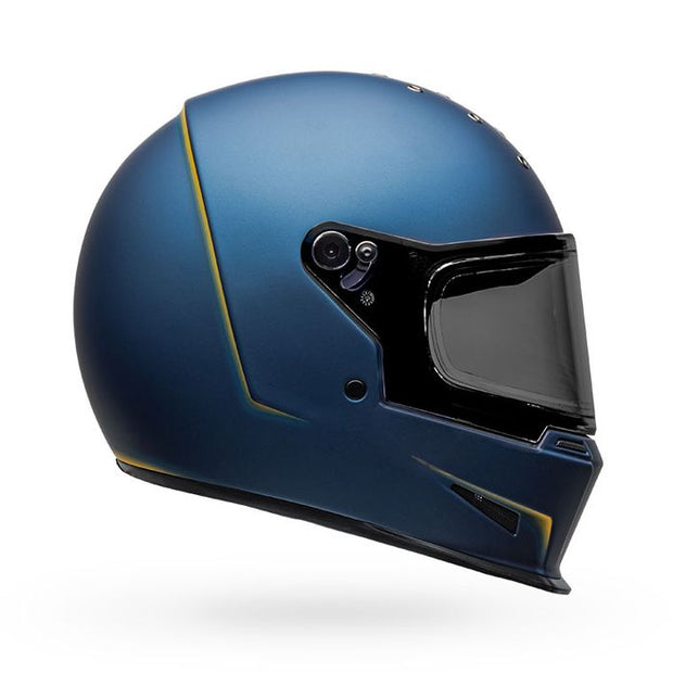BELL ELIMINATOR VANISH MATTE BLUE-YELLOW