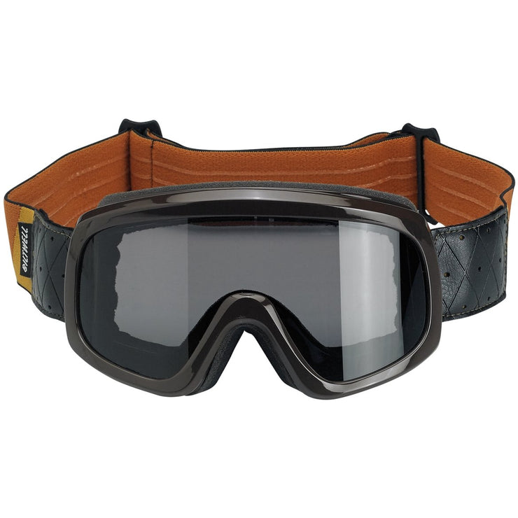 BILTWELL OVERLAND GOGGLE 2.0 TRI STRIPE GOLD/RUST/BROWN