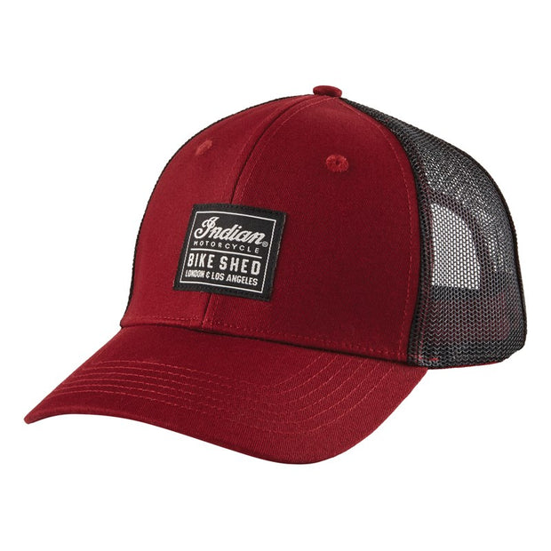 BSMC X INDIAN MOTORCYCLE PATCH CAP - PORT