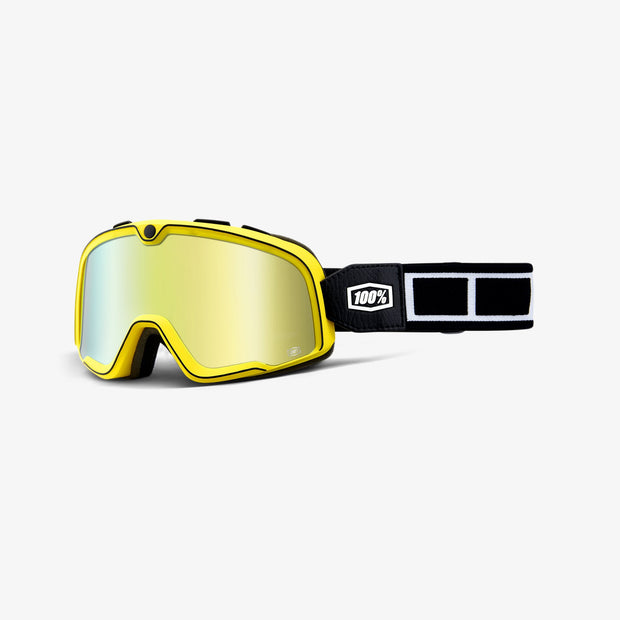 100% BARSTOW GOGGLE BURNWORTH-GOLD MIRROR LENS