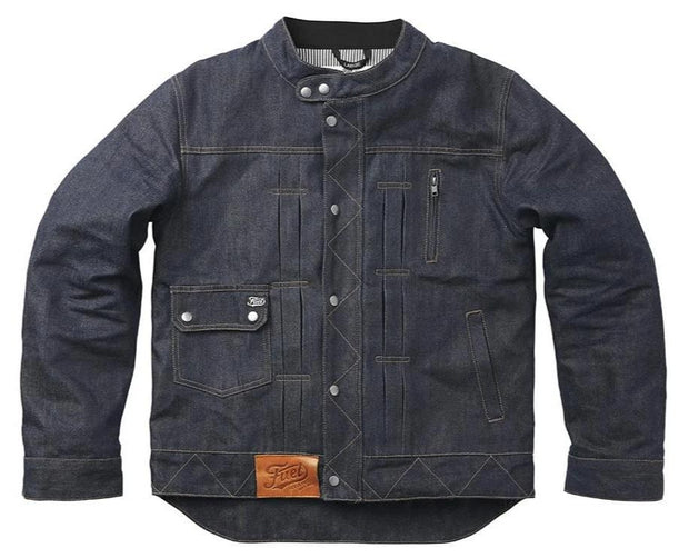 "FUEL ""GREASY"" DENIM JACKET"