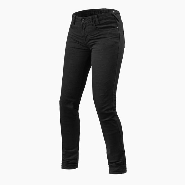 REV'IT! MAPLE LADIES JEANS SK (SKINNY FIT) - BLACK