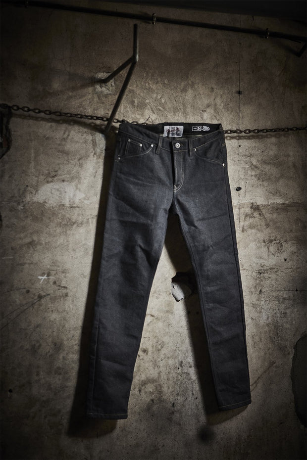 "FUEL ""GREASY"" DENIM PANTS"