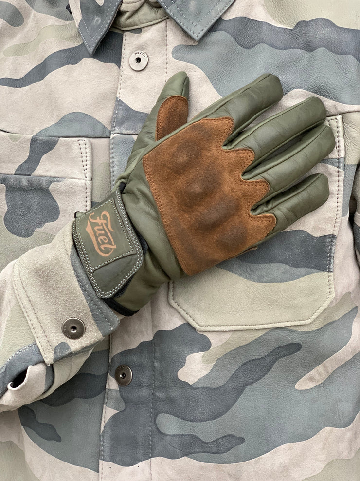 FUEL RODEO GLOVE OLIVE
