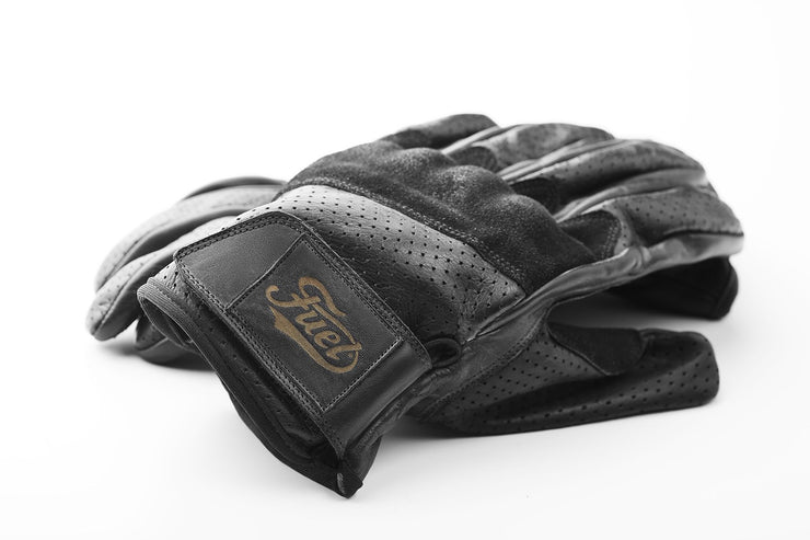 FUEL RODEO GLOVES BLACK