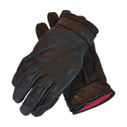 GOLDTOP SHORT BOBBER GLOVES - BLACK