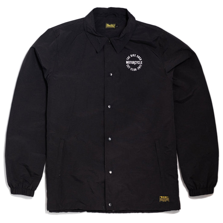 THE BIKE SHED COACH JACKET BLACK