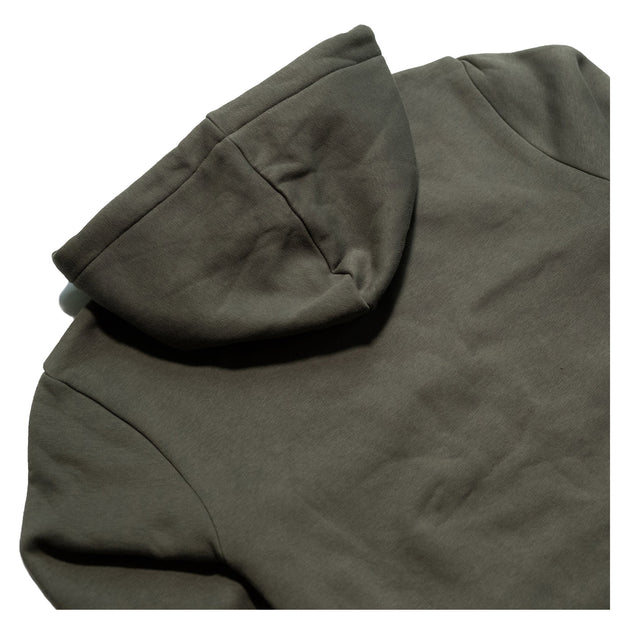 THE BIKE SHED WING HOODIE KHAKI