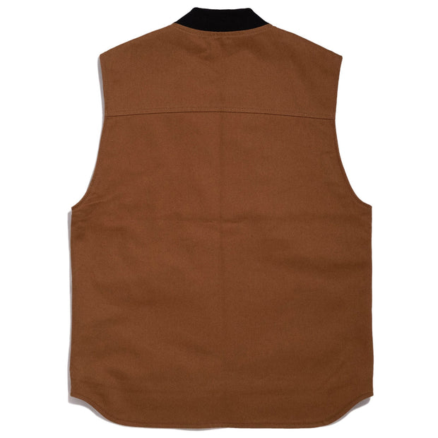 THE BIKE SHED UTILITY VEST TAN
