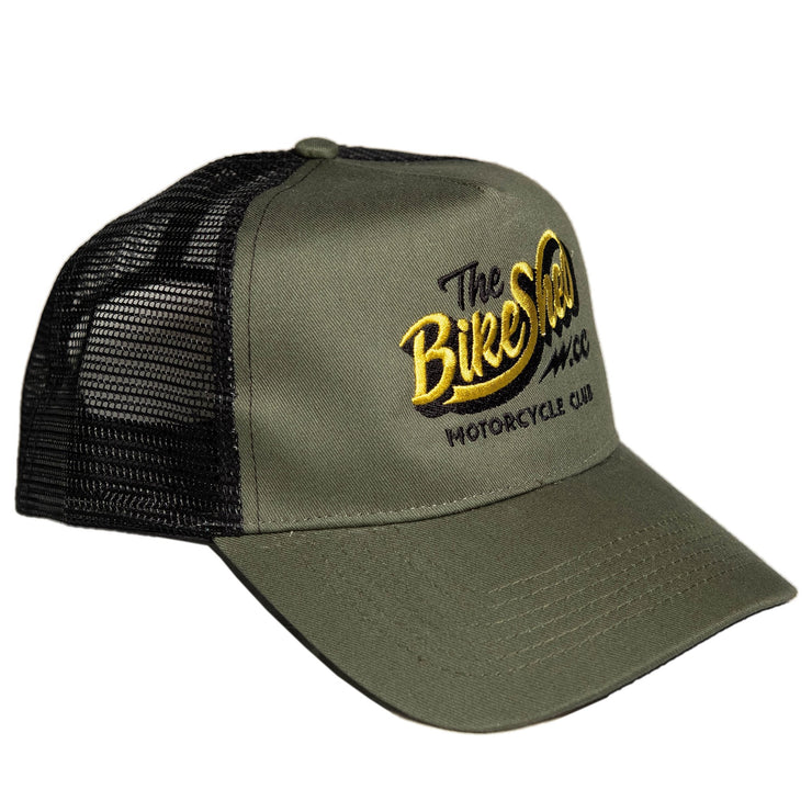 THE BIKE SHED CLASSIC CAP GREEN