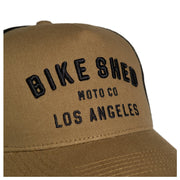 BSMC MOTO CO. CAP LOS ANGELES - KHAKI