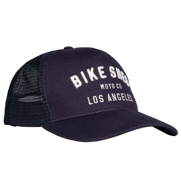 BSMC MOTO CO. CAP LOS ANGELES - NAVY