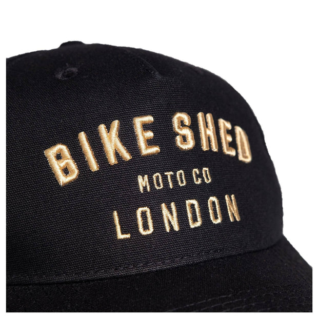 BSMC MOTO CO. CAP LONDON - BLACK
