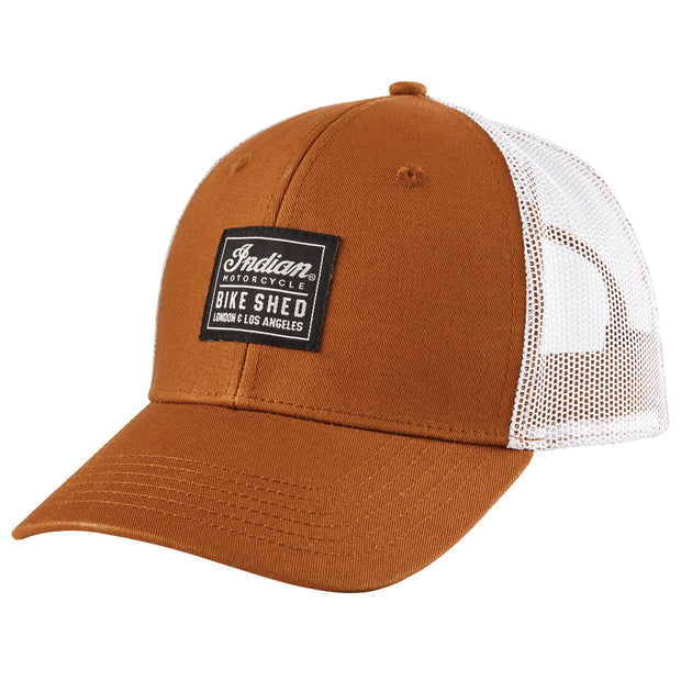 BSMC X INDIAN MOTORCYCLE PATCH CAP - TAN