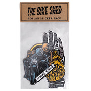 THE BIKE SHED STICKER PACK COLLAB
