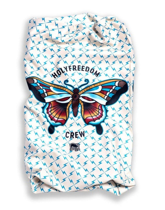 HOLY FREEDOM STRETCH TUBE SCARF - BUTTERFLY