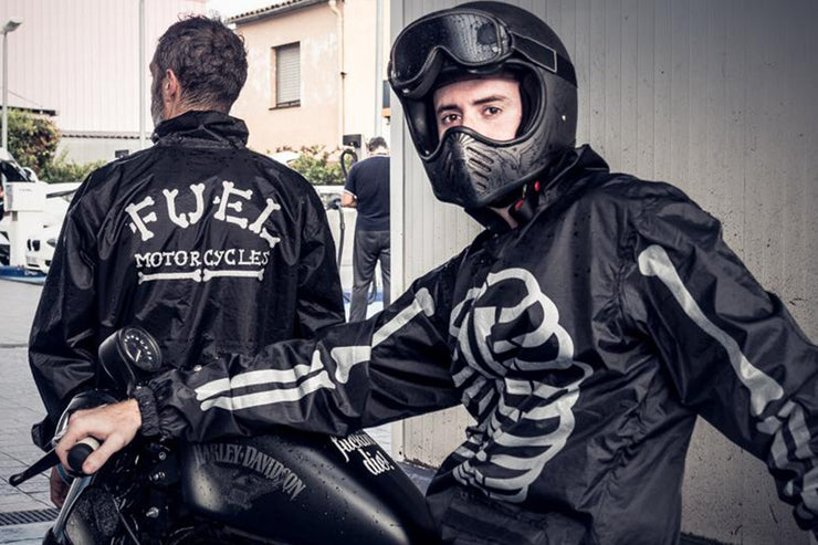 FUEL DAY OF THE DEAD RAIN SUIT