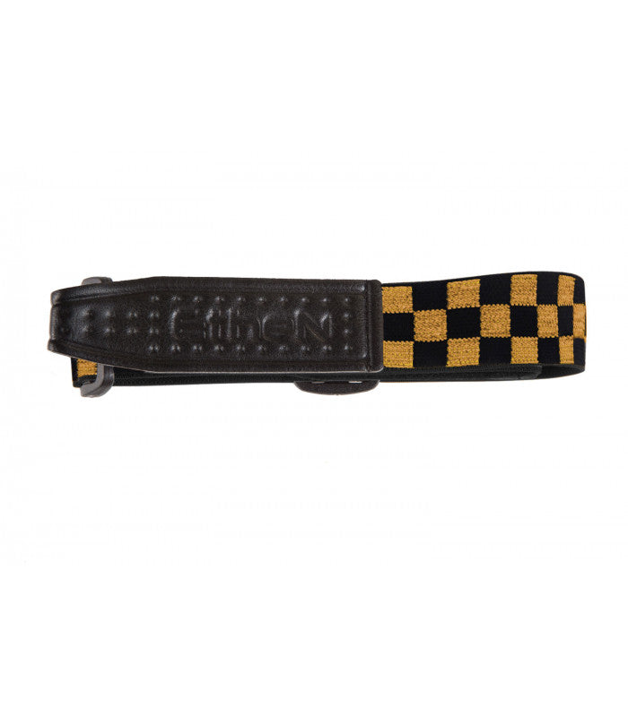 ETHEN REPLACEMENT STRAP - CHECKER BLACK/GOLD