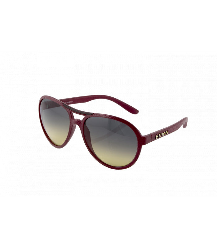ETHEN BRANDO SUNGLASSES - DARK CHERRY RED