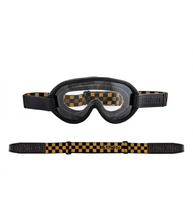 ETHEN SCRAMBLER GOGGLE PHOTOCHROMIC LENS - CHESS BLACK/GOLD