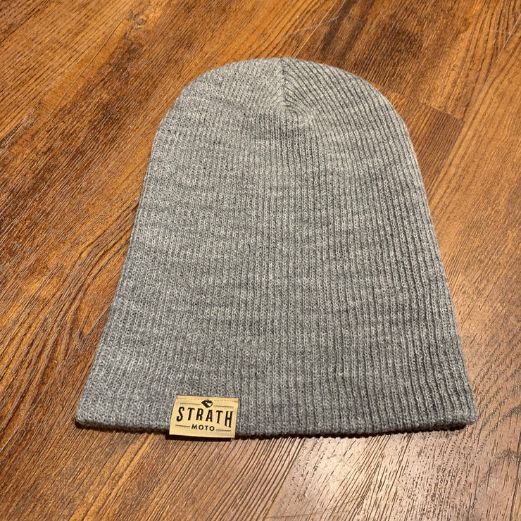 STRATH MOTO TOQUE/BEANIE HEATHER GREY
