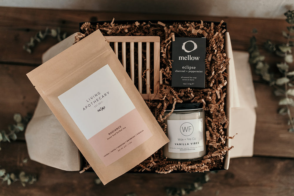 Image of gift box filled with products | Miller Box Co.