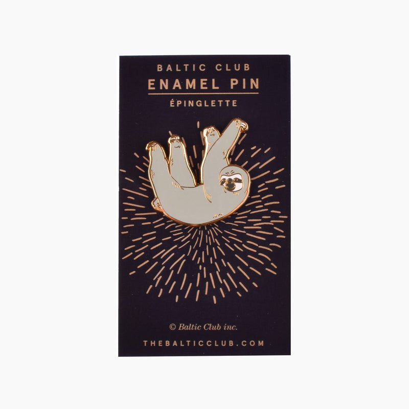 Sloth Enamel Pin | Miller Box Co.