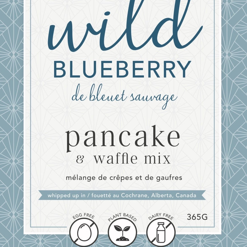 Wild Blueberry Pancake & Waffle Mix | Miller Box Co.