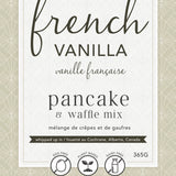 French Vanilla Pancake & Waffle Mix | Miller Box Co.