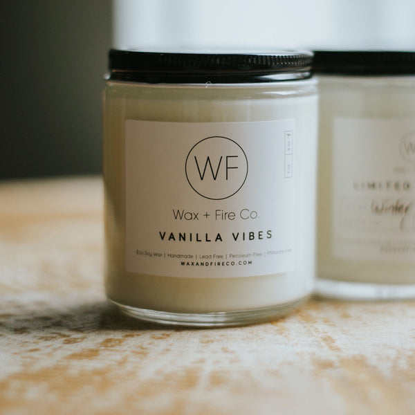 Vanilla Vibes Candle | Miller Box Co.