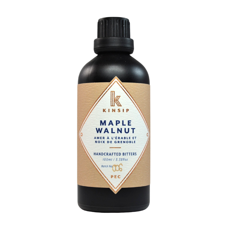 Maple Walnut Handcrafted Bitters | Miller Box Co.