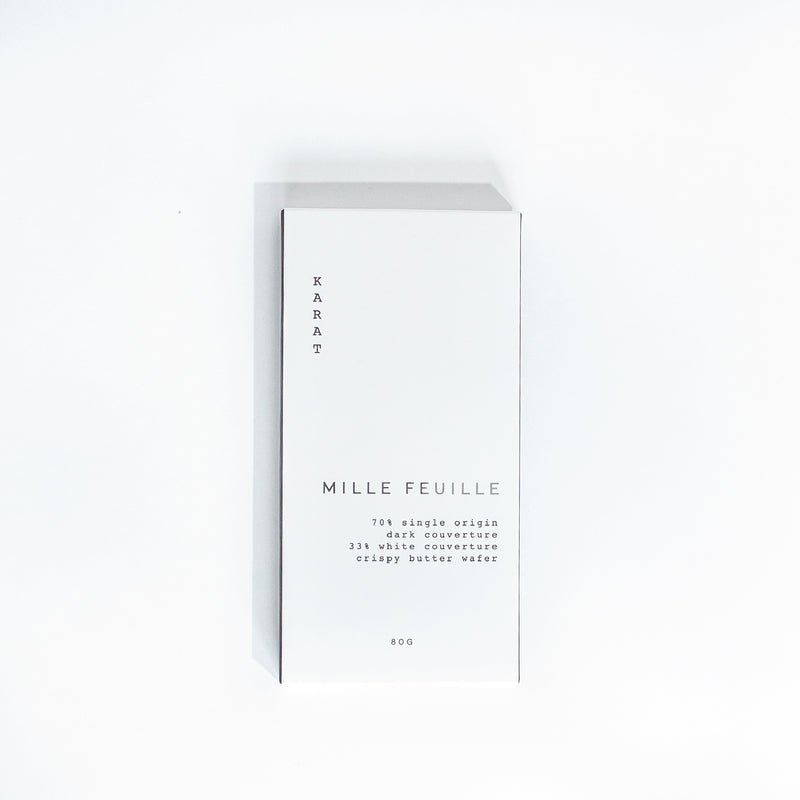 Mille Feuille Chocolate Bar | Miller Box Co.