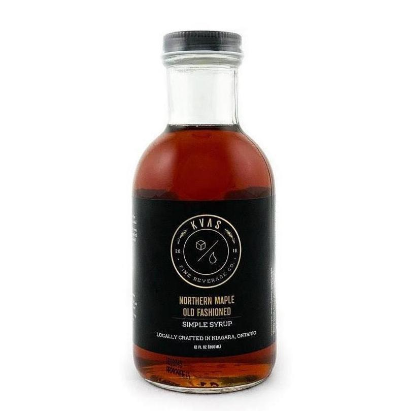 Northern Maple Old Fashioned Simple Syrup | Miller Box Co.