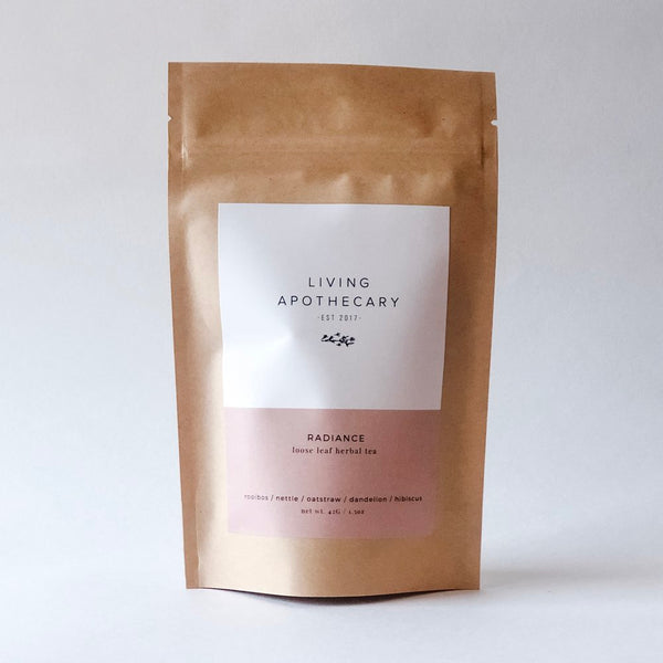 Radiance Loose Leaf Herbal Tea | Miller Box Co.