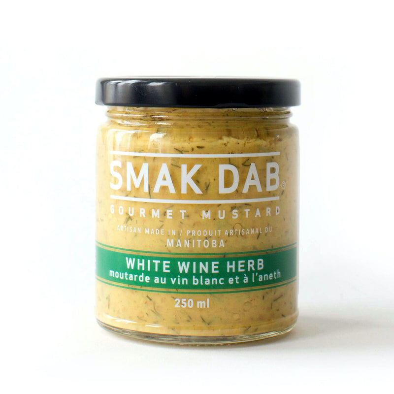White Wine Herb Mustard | Miller Box Co.