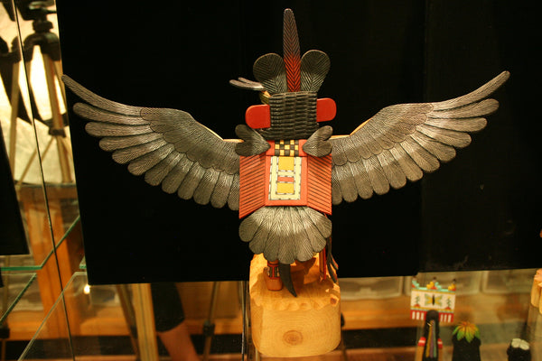 Hopi 12″ Kachina: Eagle Dancer