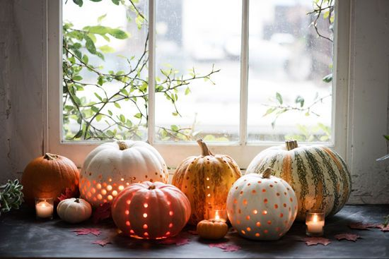 Pumpkin Lanterns from Design Love Fest