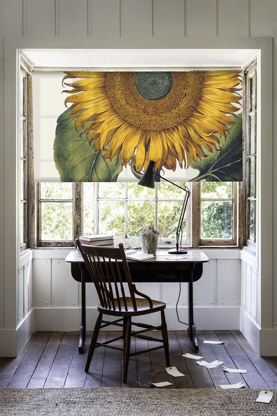 Sunflower Blind from The British Library Collection at Surface View.
