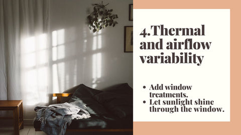 4. Thermal and airflow variability