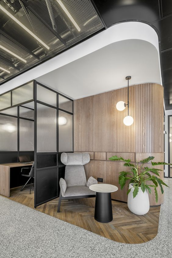B.S.R. Group Offices – Tel Aviv Designed by RUST Architects Image Credit - Office Spanshots