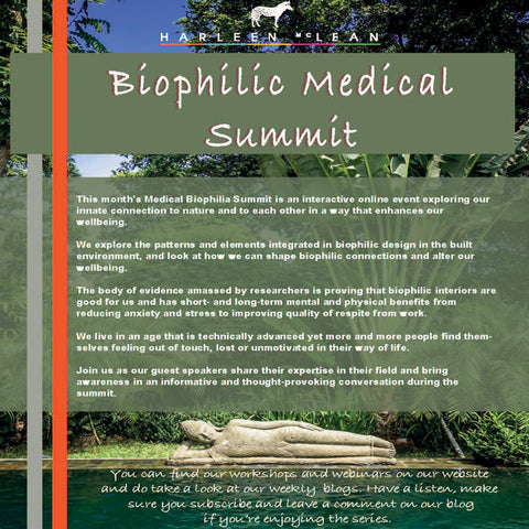Biophilic Medical Summit Wednesday 2nd September 2020 7pm BST
