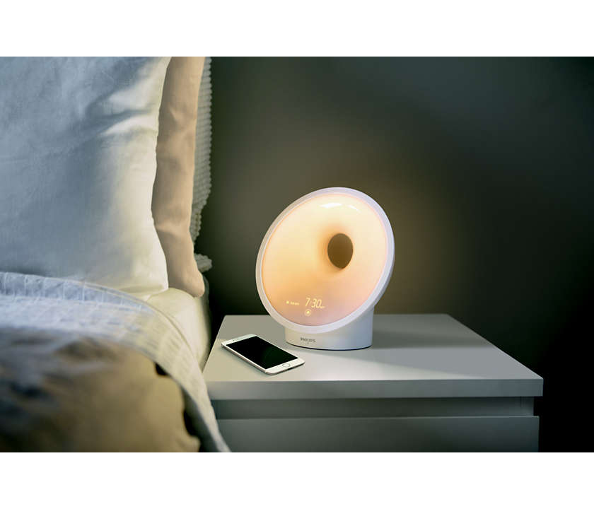 SmartSleep Connected Sleep and Wake-Up Light, Image Credit - Philips