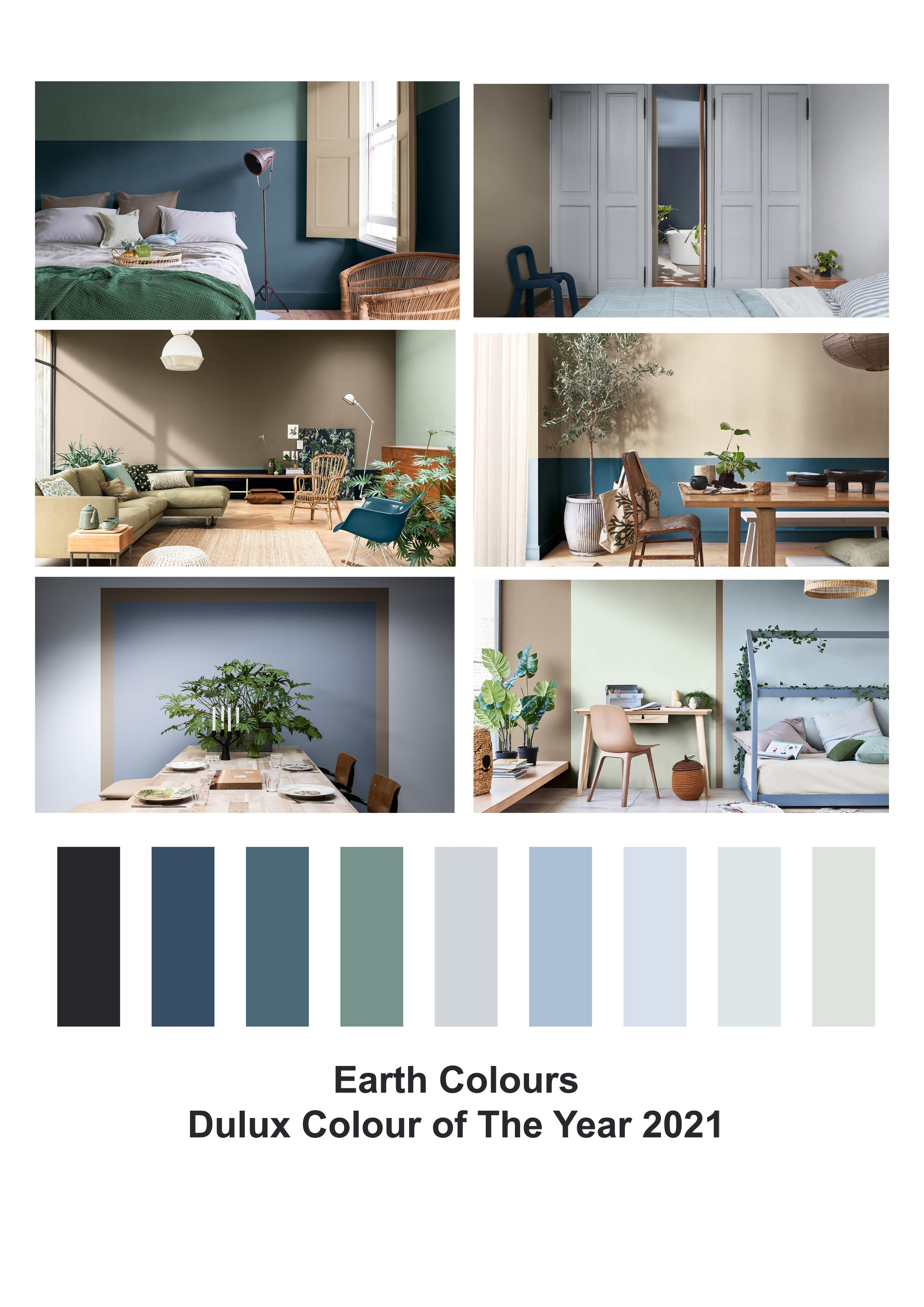 Earth Colours, Dulux Colour of the Year 2021