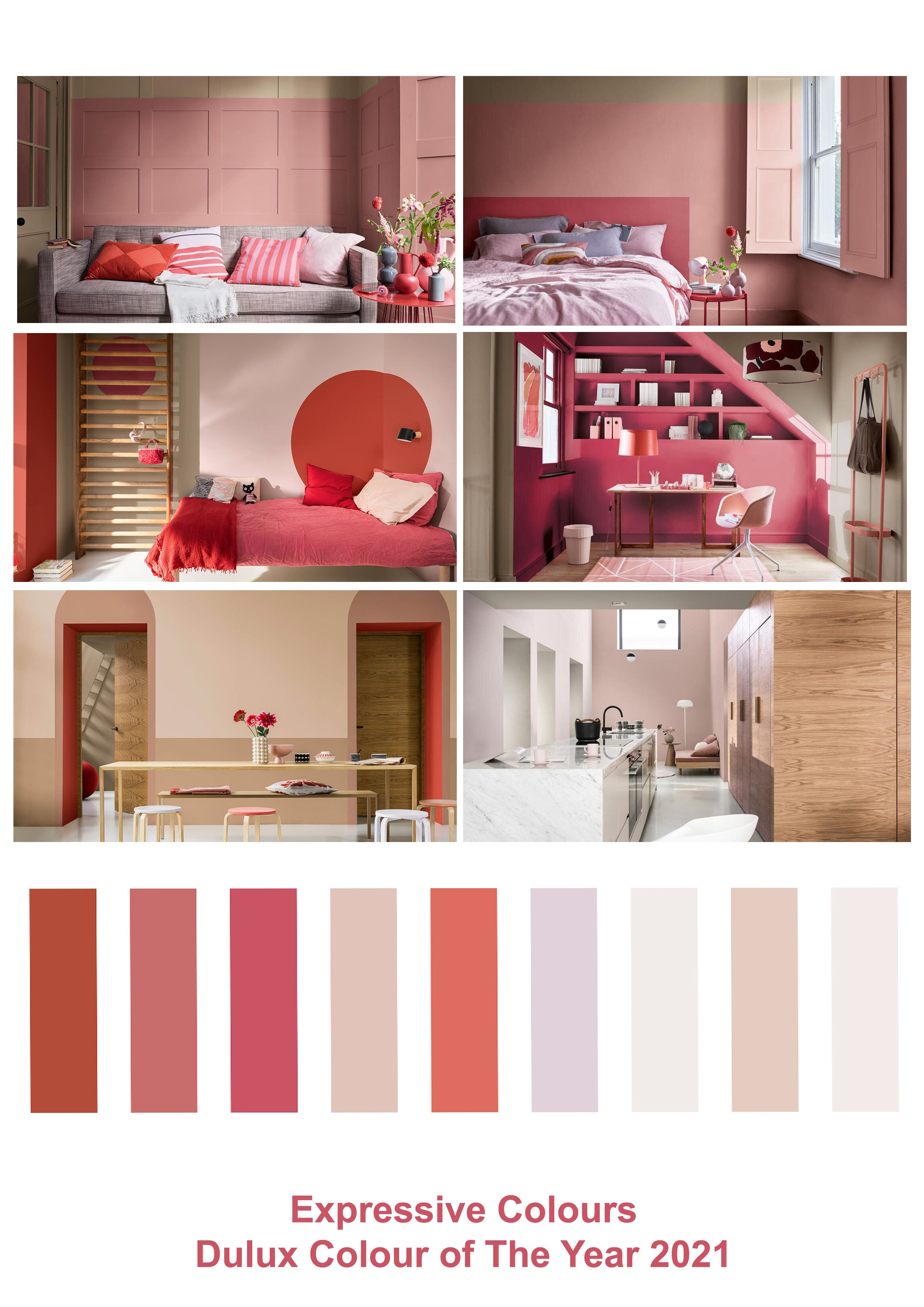 Expressive Colours, Dulux Colour of the Year 2021