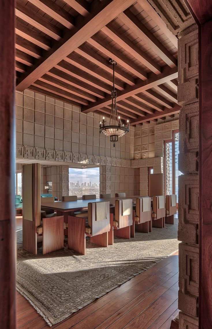 Frank Lloyd Wright's Ennis House, Image Credit - Frank Lloyd Wright