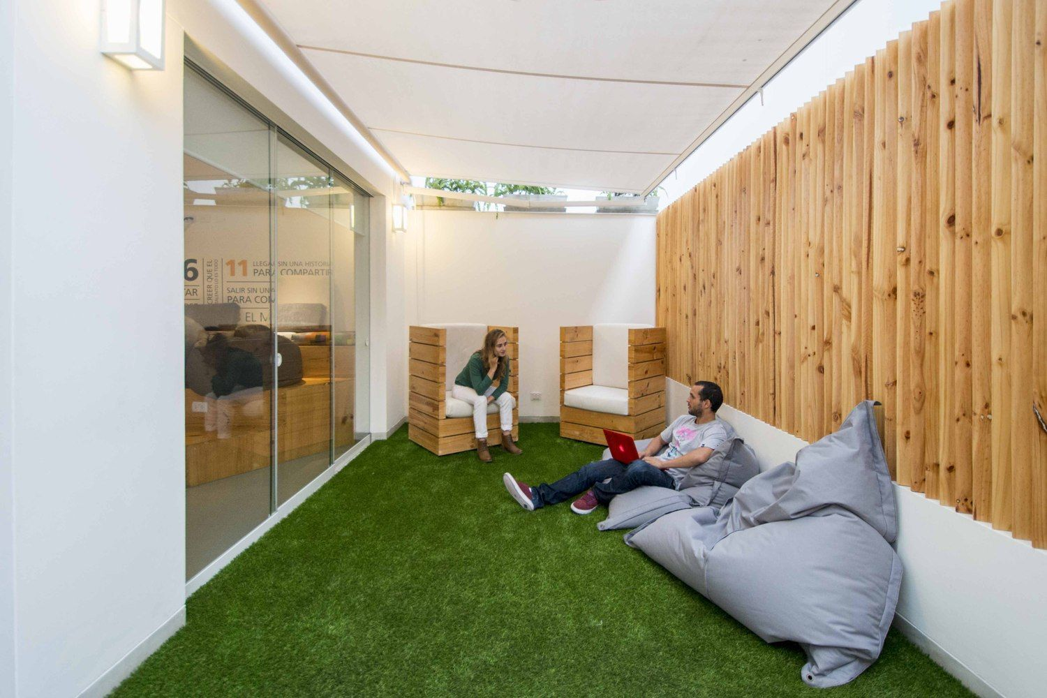 Communal Co-Working Designed by DA-LAB Arquitectos, Image Credit:  Renzo Rebagliati